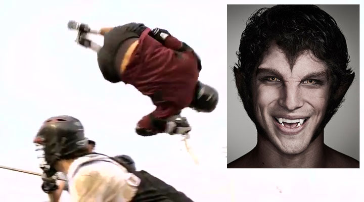 Скотт в прыжке. Волчонок 1 сезон 1 серия