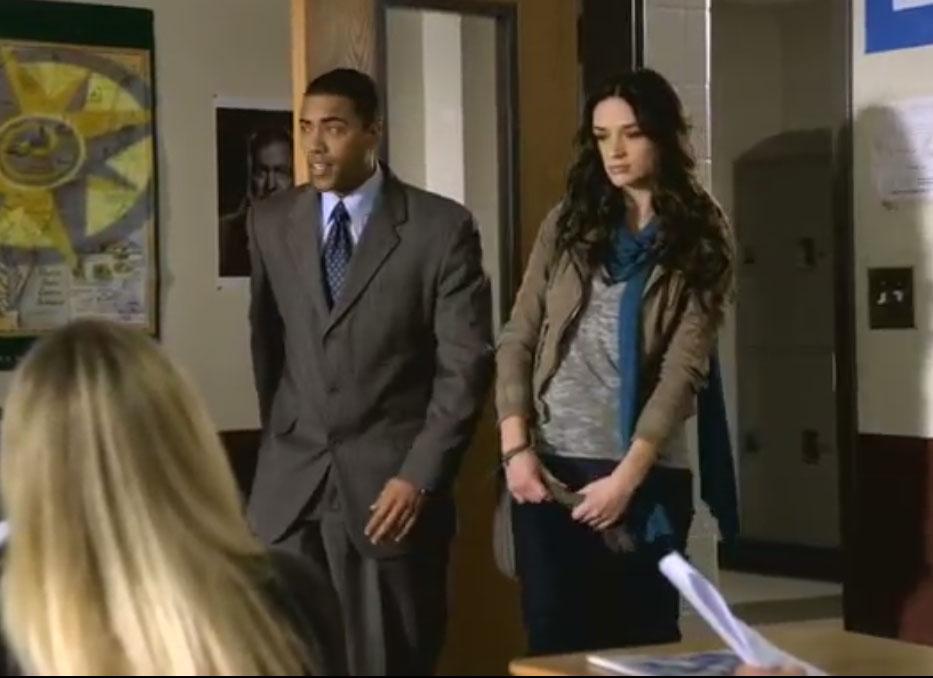 Волчонок (Teenwolf) Эллисон впервые в школе