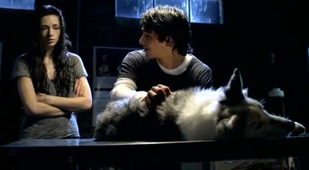 Волчонок (Teenwolf) Эллисон в ветлечебнице со Скоттом